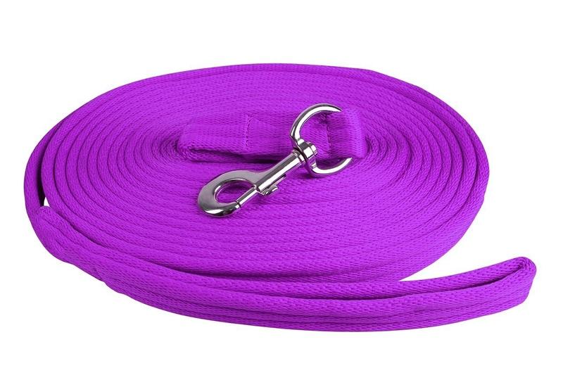 Lunge line - Purple