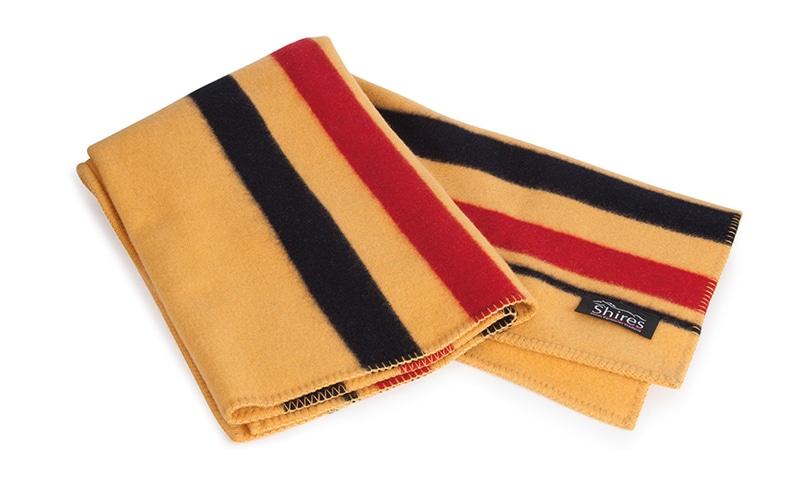 Newmarket wool blanket 200x210