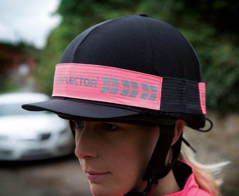 EQUI-FLECTOR Hat Band - Pink