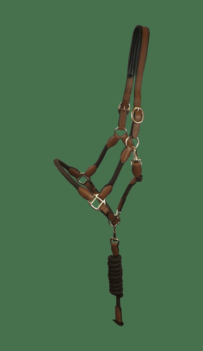 Halfter Leder/Seil - Braun