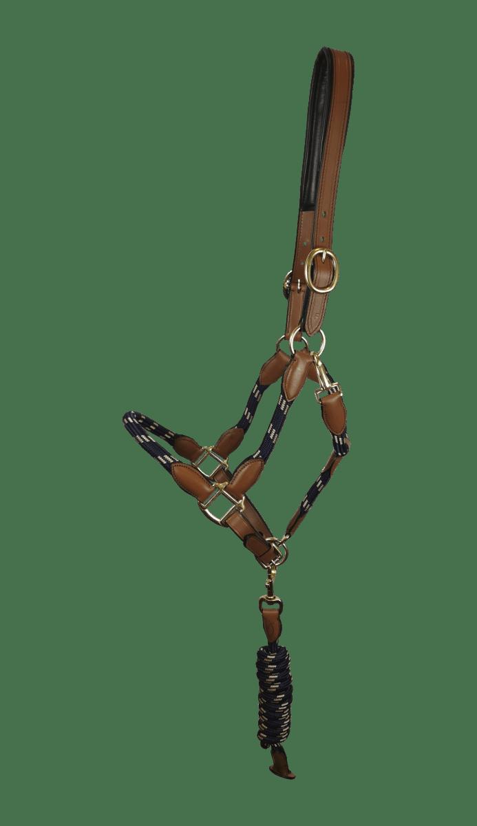Halfter Leder/Seil - Marine