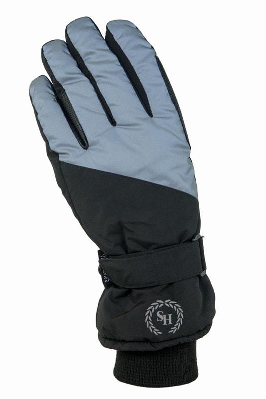 Riding glove Termo Reflex - Black