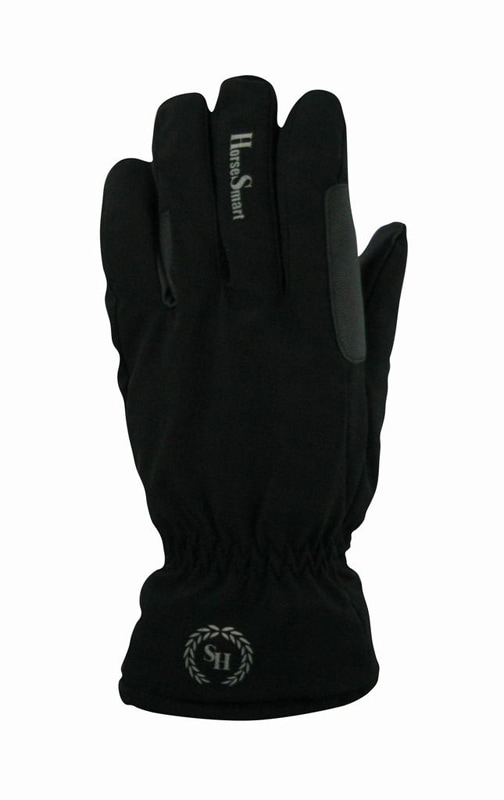 Riding glove Softshell - Black