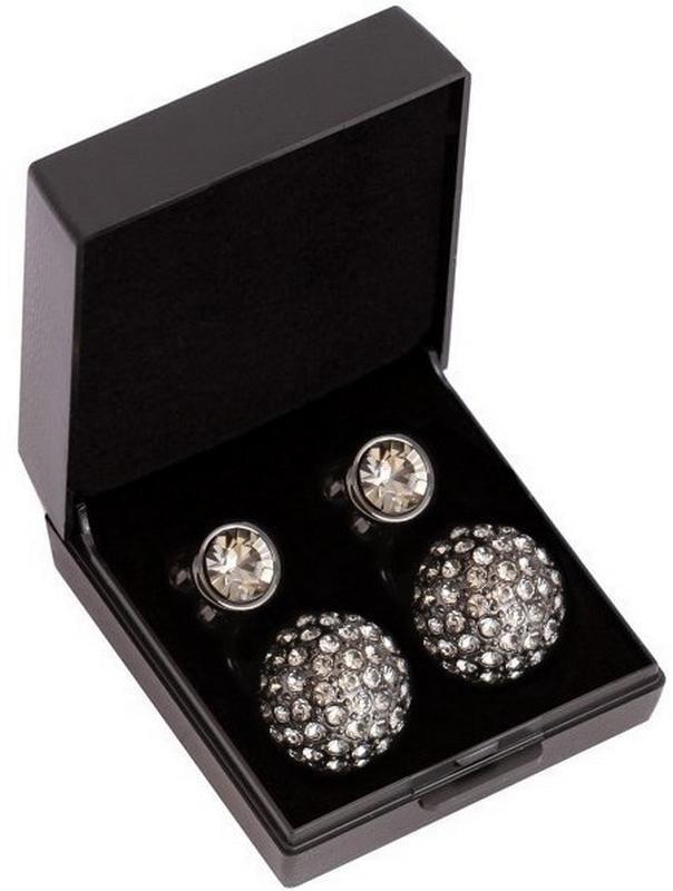 Diamond earrings - Black