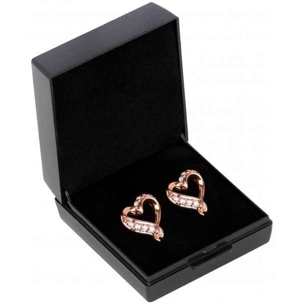 Amour earrings - Rose gold