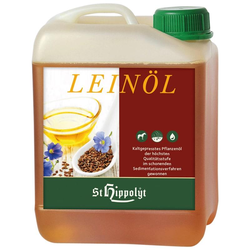 Leinöl linfröolja 2,5 liter från St. Hippolyt. Hogsta Ridsport.