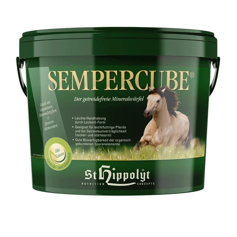 Sempercube mineralfoder 3 kg från St Hippolyt. Hogsta Ridsport.