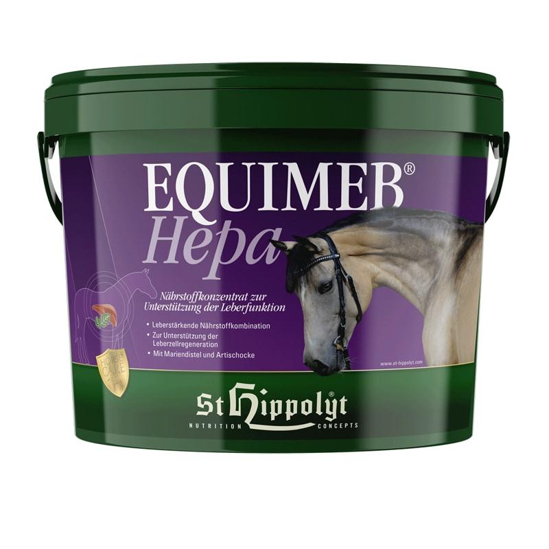 Equimeb Hepa 3 kg hink från St. Hippolyt. Hogsta Ridsport.