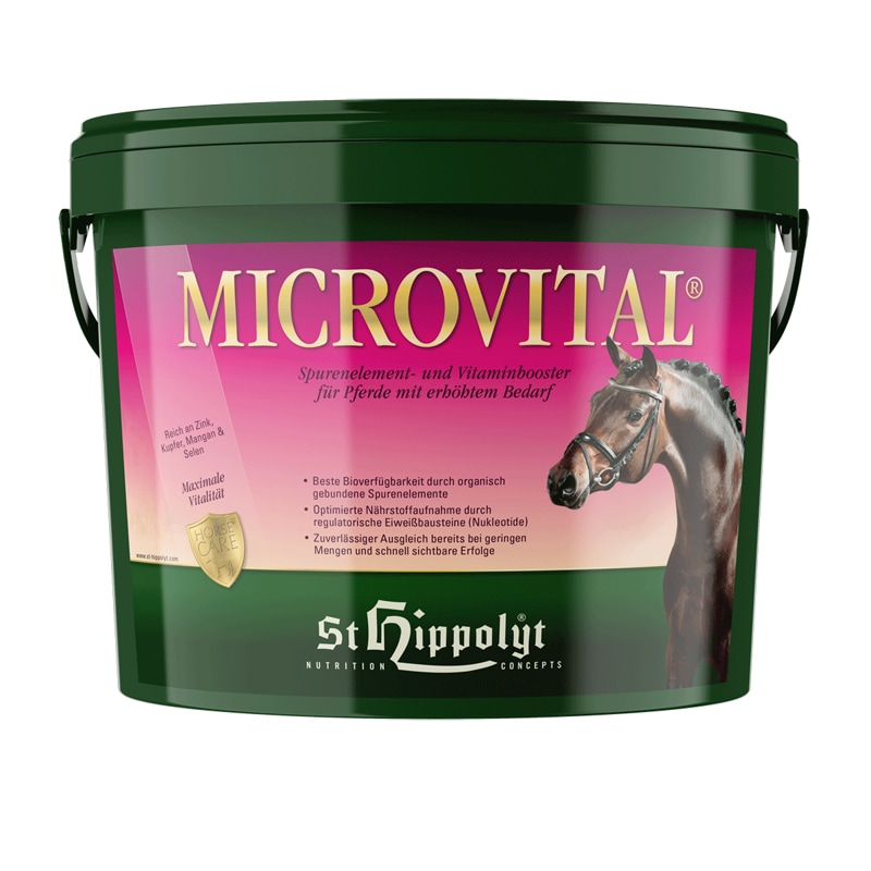 Microvital från St Hippolyt. Hogsta Ridsport.
