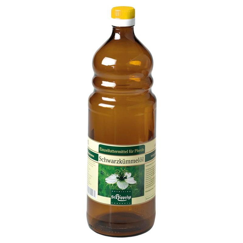 Nigellaolja 750 ml från St. Hippolyt Hogsta Ridsport..