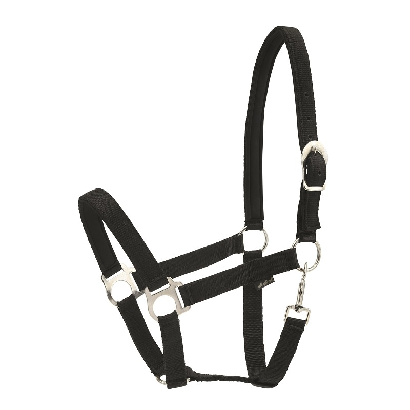 Nylon halter - Black