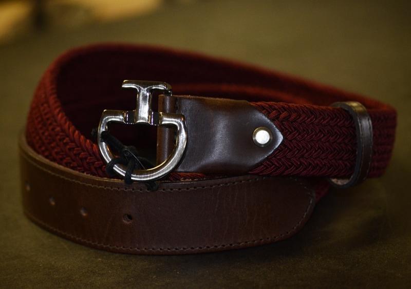 CT elastic belt - Burgundy