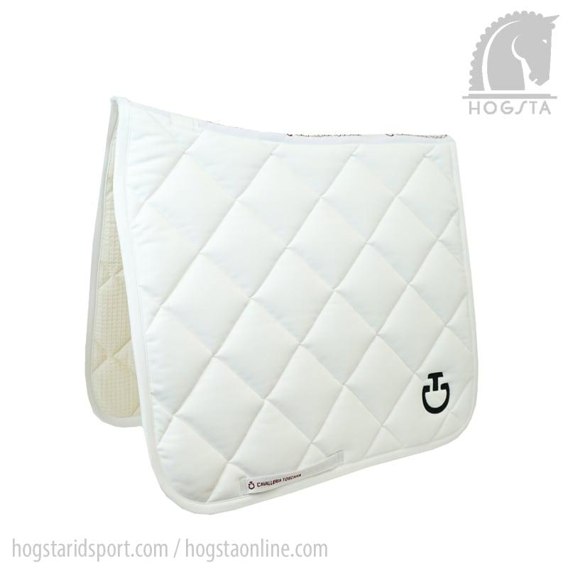 Jersey Rhombi dressyrschabrak i vitt från Cavallerina Toscana Hogsta Ridsport.