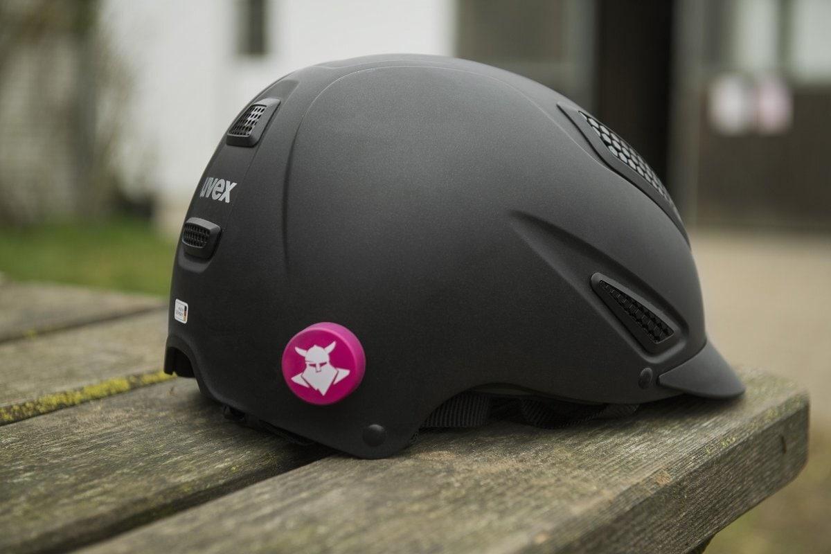 Tocsen Alarmknopf für Reiter - Rosa