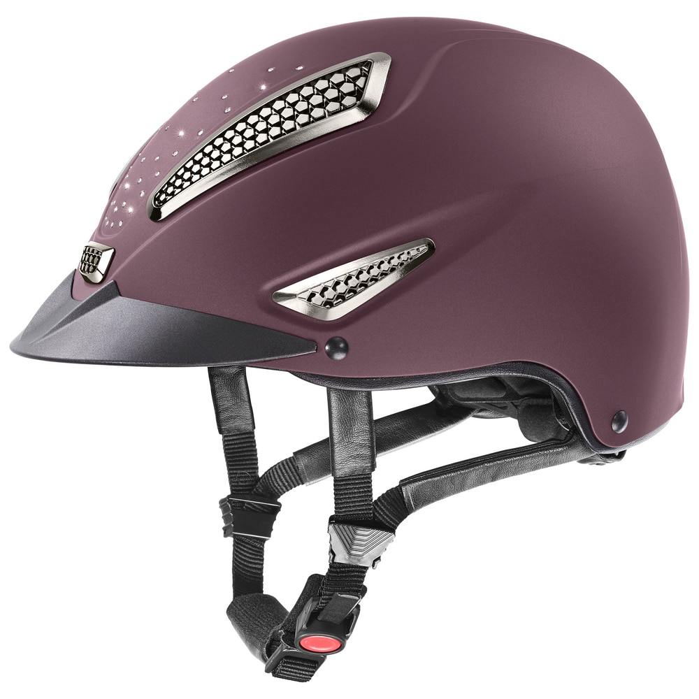 Uvex Riding Helmet Perfexxion II Grace - Burgundy