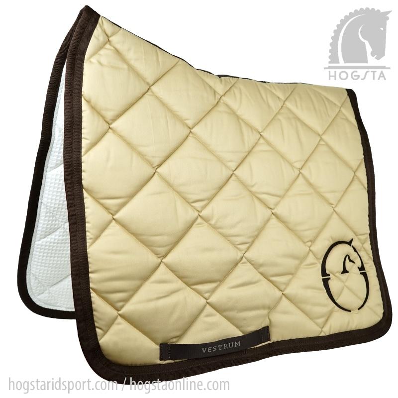 Dressage saddle pad Chicago - Beige/Brown