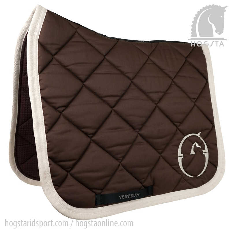 Dressage saddle pad Chicago - Dk Brown/Beige