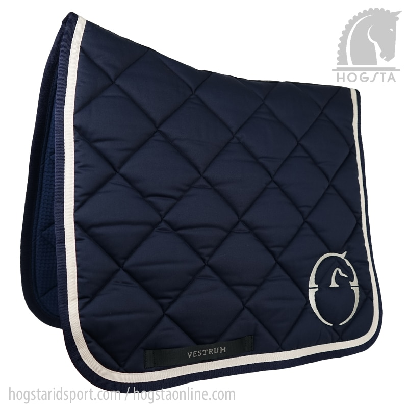 Dressage saddle pad Chicago - Navy/Beige