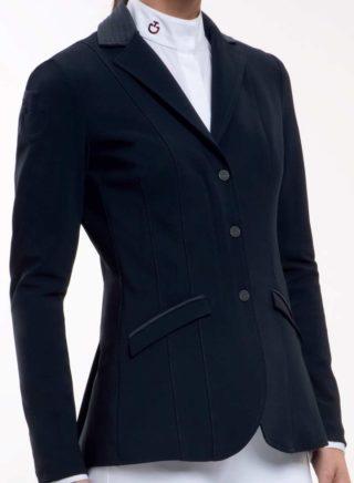 Cavalleria Toscana Embossed Line Zip Jacket