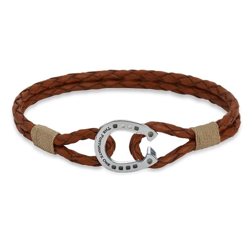 Bracelet double - Palomino/Steel