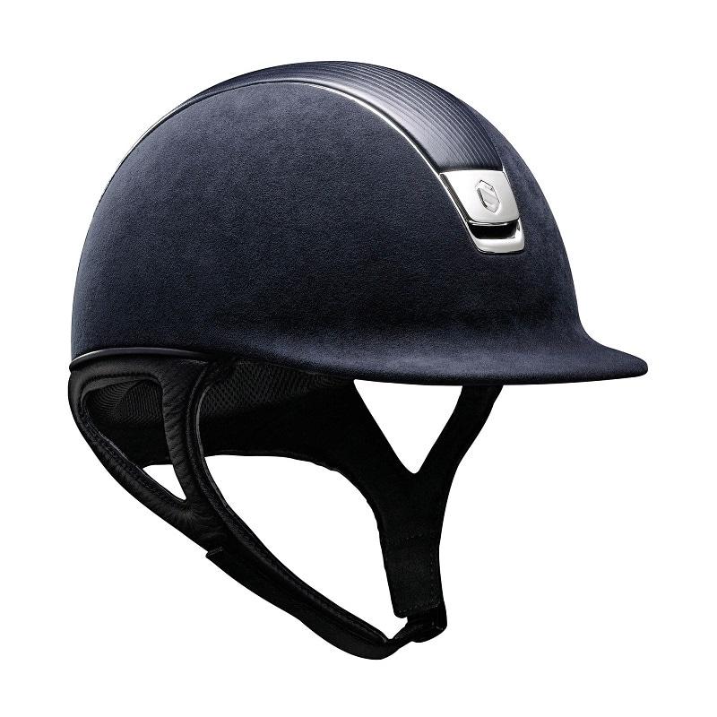 Alcantara Leather Chrome DR - Navy