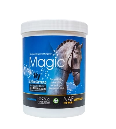 nervös häst magnesium
